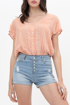 ShopGoldies Whimsy Lace Blouse - Product List Image