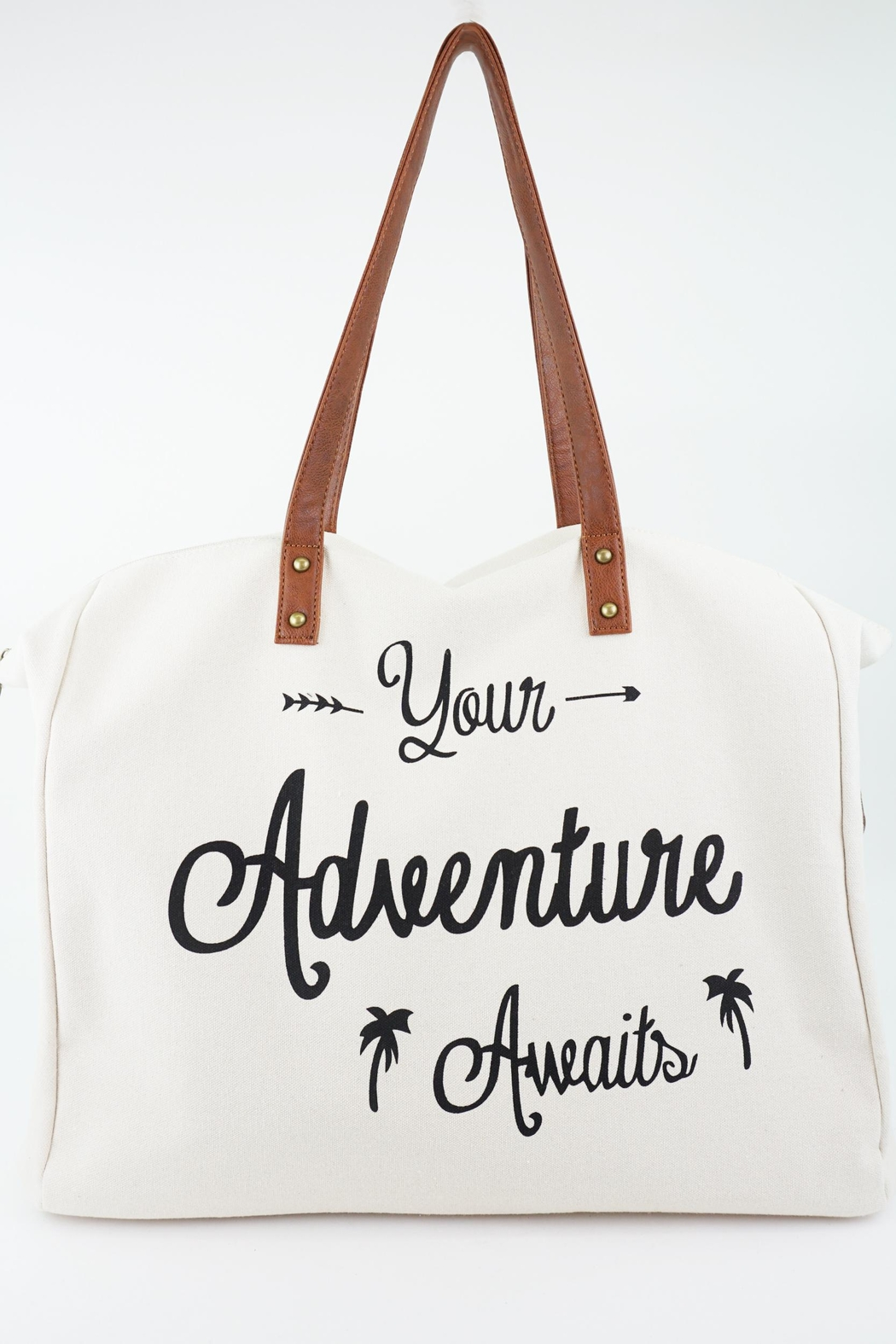 ShopGoldies Your-Adventure-Awaits Canvas Tote-Bag - Side Cropped Image