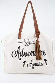 ShopGoldies Your-Adventure-Awaits Canvas Tote-Bag - Other