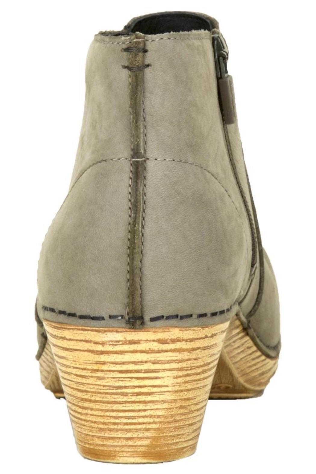 Dansko Maria Taupe Bootie - Back Cropped Image