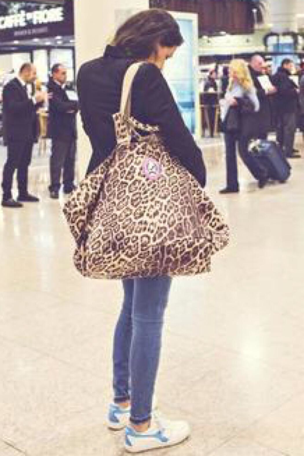 All-time Favourites Shopper Leopard/python - Front Full Image