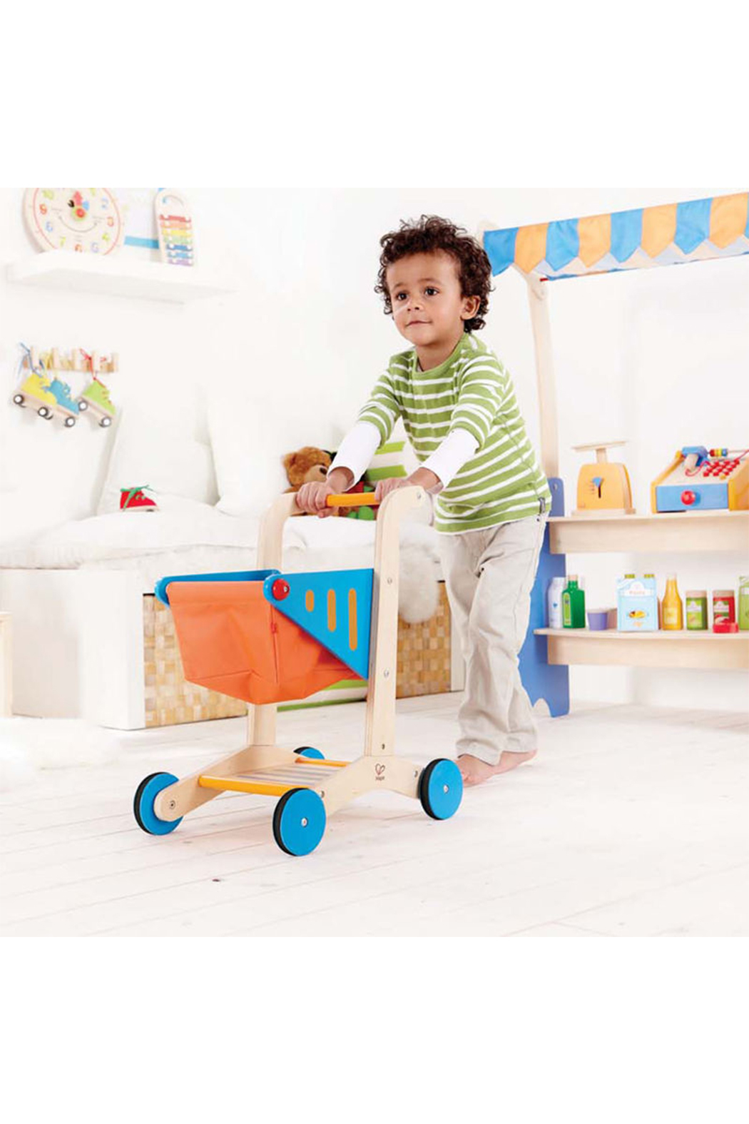 Hape  Shopping Cart - Front Full Image