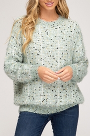 She + Sky Shopping Day Sweater - Product Mini Image
