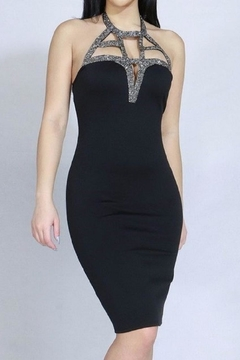 ShopWTD Beaded Chest Dress - Product List Image