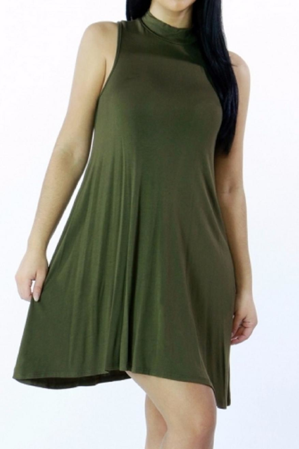 ShopWTD Tunic Dress - Front Cropped Image