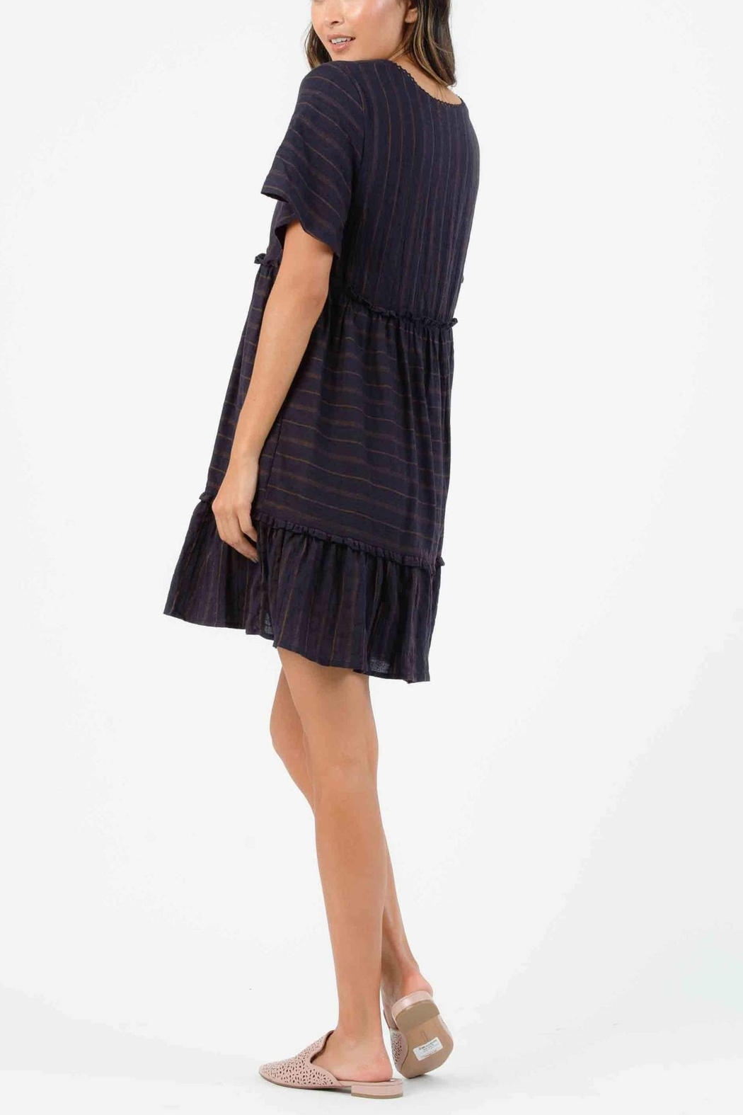 Lucca Shore Baby Doll Dress - Front Full Image