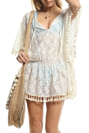 Lucy Love Shore Club Poncho - Front cropped