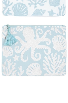 Shoptiques Product: Shore Embroidered Pouch