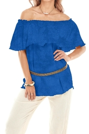 Oh My Gauze Shore Gauze Top - Product Mini Image