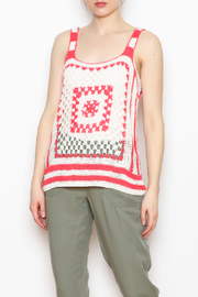 Shoreline Crochet Knit Tank - Product Mini Image