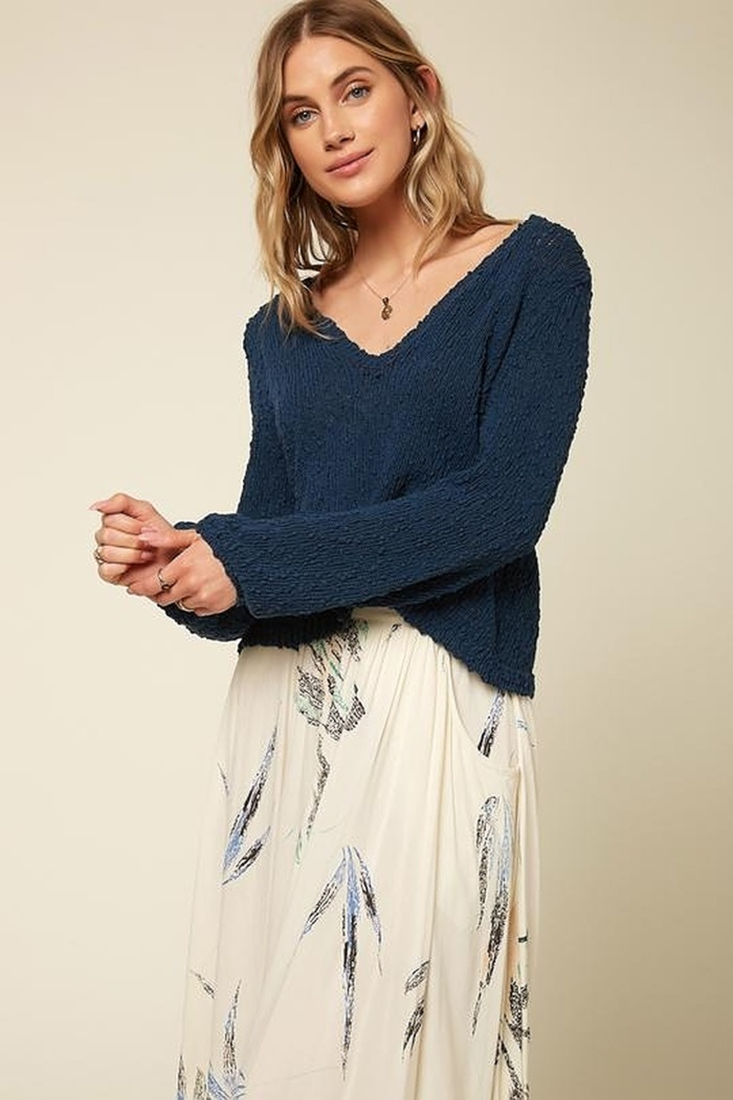 O'Neill Shores Solid Sweater - Front Cropped Image