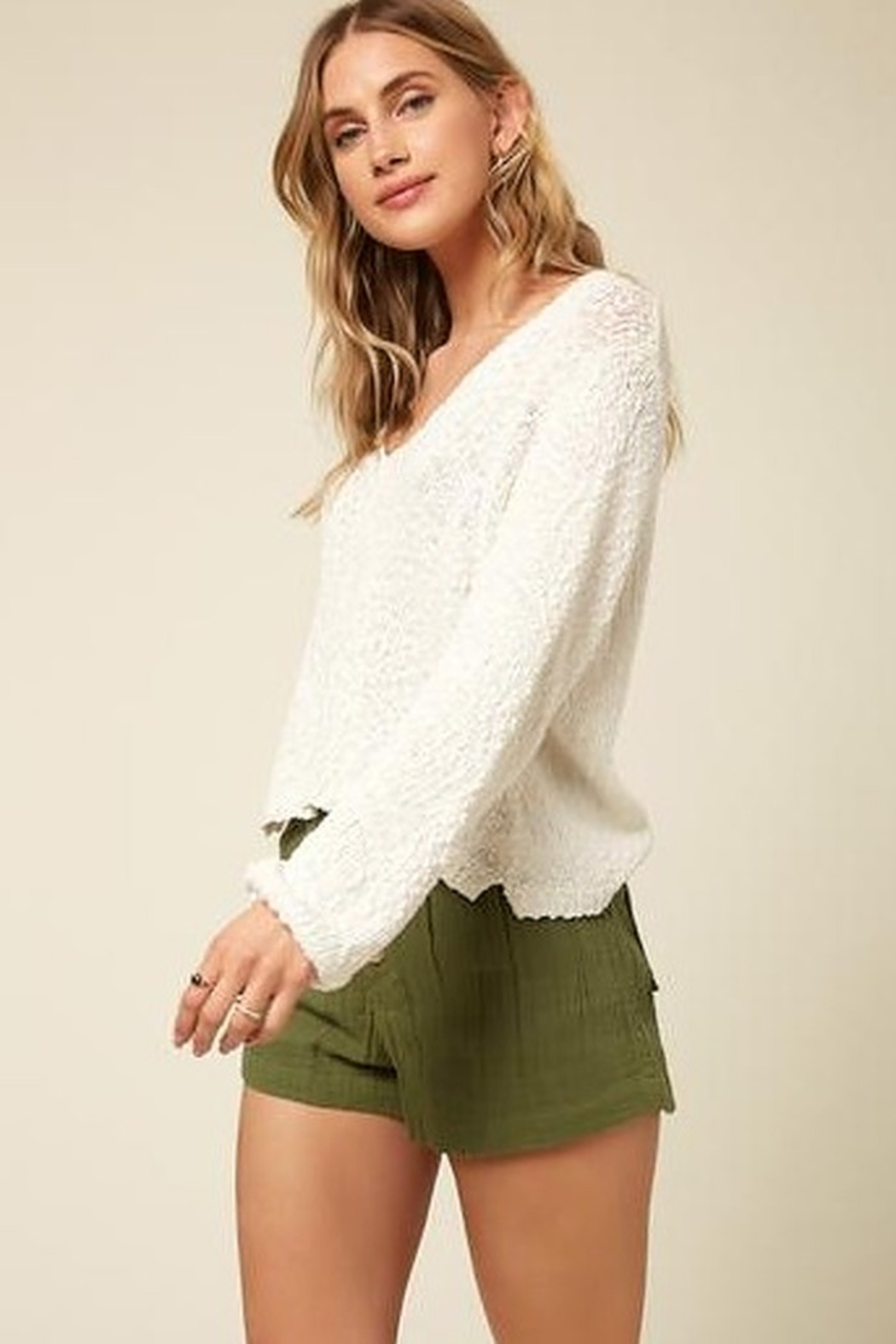 O'Neill Shores Solid Sweater - Side Cropped Image