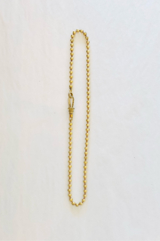 The Woods Fine Jewelry  Short Brass Ball Chain - Product Mini Image