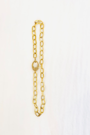 The Woods Fine Jewelry  Short Brass Chain - Product Mini Image