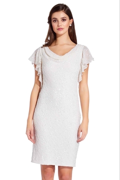 Adrianna Papell Short Dress- Special Occasion - Product List Image