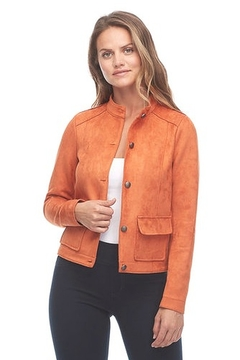 FDJ French Dressing Jeans Short Faux Suede Jacket - Product List Image
