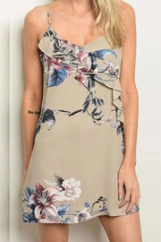 KIMBALS Short Floral Print Dress - Product Mini Image