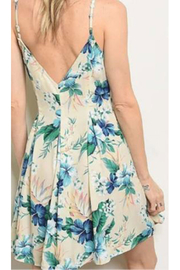 KIMBALS Short Floral Print Dress - Front full body