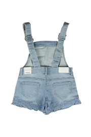 Mayoral Short Lacy Overalls - Side cropped
