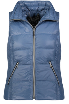 Anorak Short Nylon Down Vest - Alternate List Image