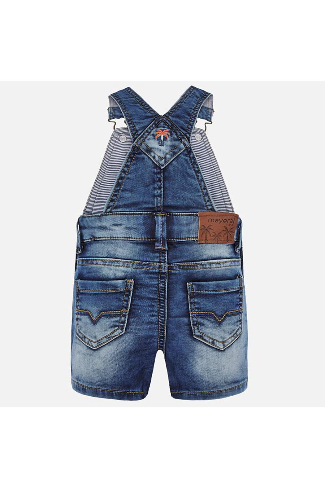 Mayoral Short Overalls - Front Full Image