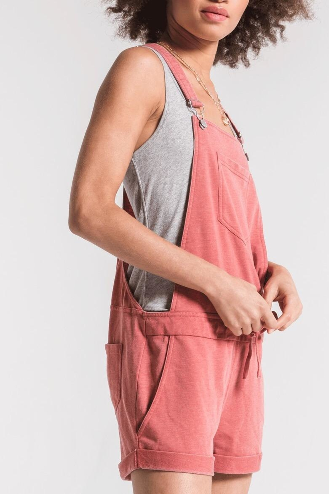 Zsupply Short Overalls - Side Cropped Image