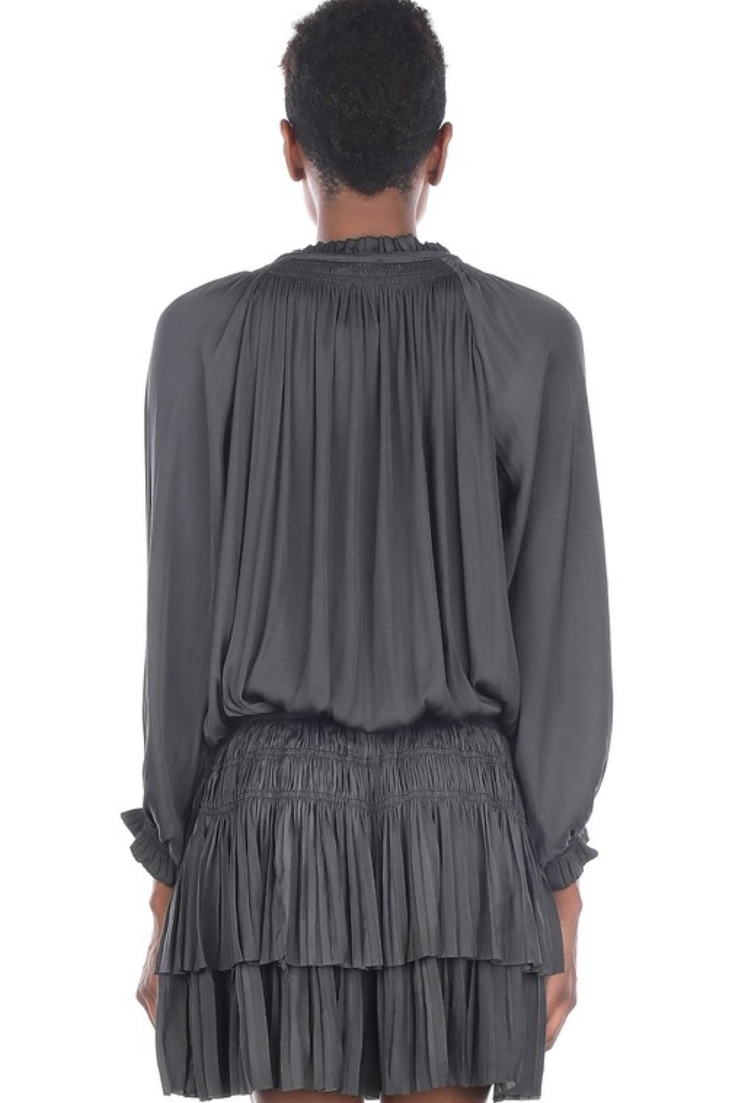 Current Air Short Pleated Dress - Side Cropped Image