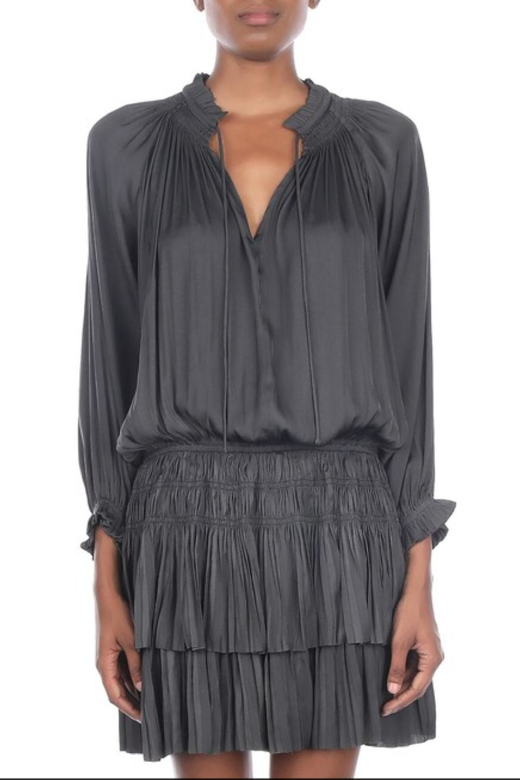 Current Air Short Pleated Dress - Main Image