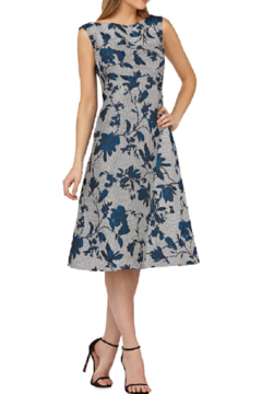 Kay Unger Short Print Dress - Product List Image