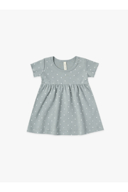 Quincy Mae Short Sleeve Baby Dress - Front cropped