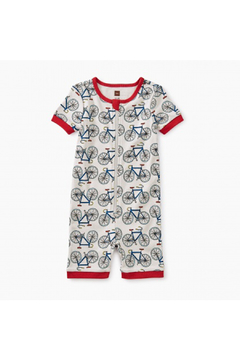 Shoptiques Product: Short Sleeve Baby Pajamas