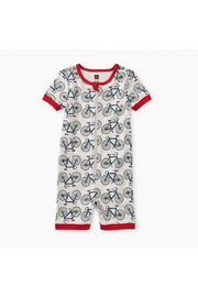 Tea Collection Short Sleeve Baby Pajamas - Front cropped