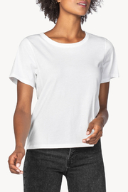 Lilla P Short Sleeve Boxy Tee - Front cropped