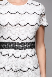 Do & Be Short-Sleeve Lace Romper - Back cropped