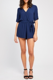 Gentle Fawn Short Sleeve Romper - Front full body