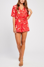 Gentle Fawn Short Sleeve Romper - Product Mini Image