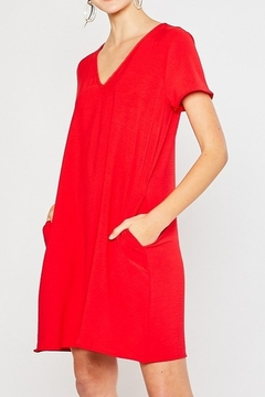 Mittoshop SHORT SLEEVE SHIFT DRESS - Product List Image