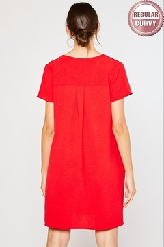 Mittoshop SHORT SLEEVE SHIFT DRESS - Alternate List Image