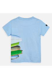 Mayoral Short Sleeve Surboard T-Shirt - Front full body