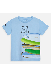 Mayoral Short Sleeve Surboard T-Shirt - Front cropped