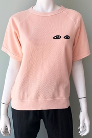 Clare V. Short Sleeve Sweatshirt - Front cropped