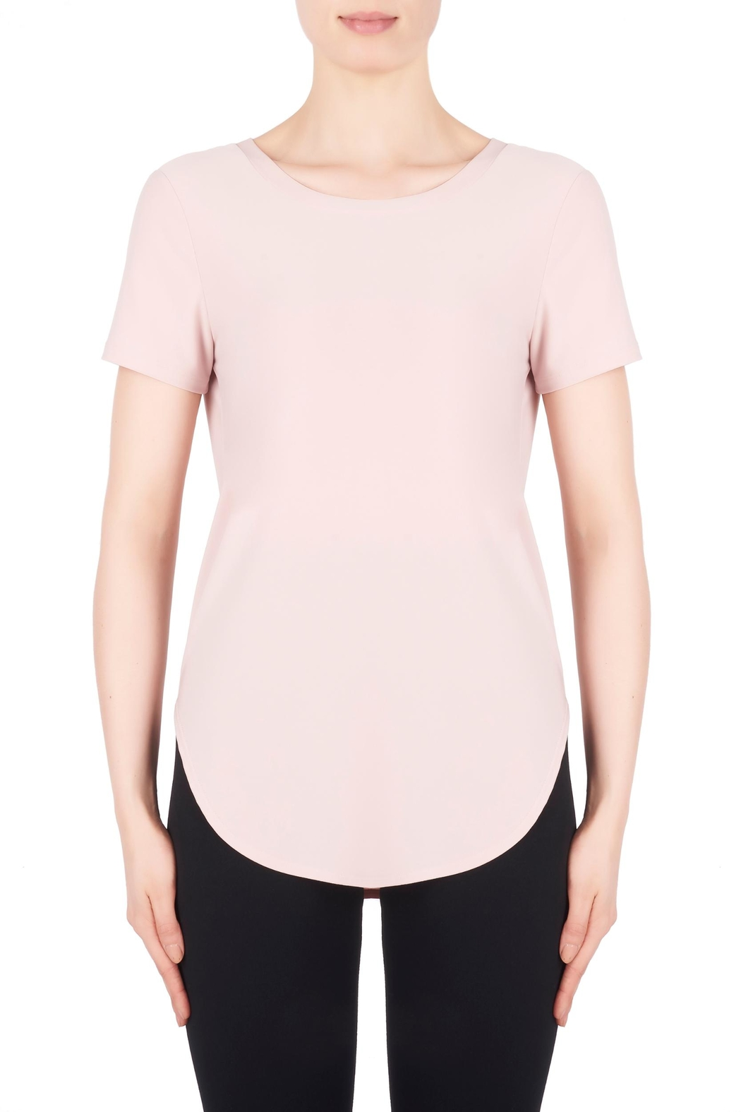 Joseph Ribkoff Short Sleeve Top - Front Cropped Image