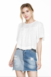 En Creme Short Sleeve Top - Product Mini Image