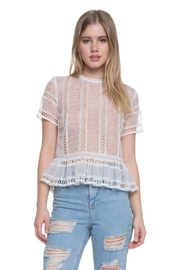Endless Rose Short Sleeve Top - Front cropped
