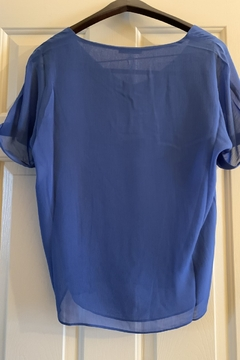 Sioni Short sleeve top with v neck - Alternate List Image