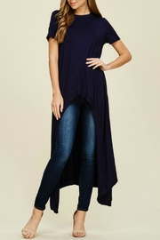 annabelle Short Sleeve  Tunic - Front cropped