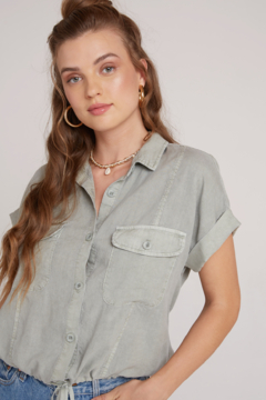 Bella Dahl Short Sleeve Utility Shirt - Alternate List Image