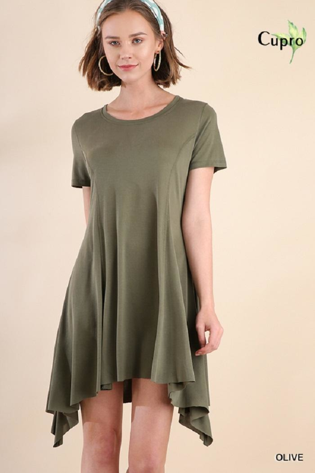 Umgee USA Short Sleeved Dress - Main Image