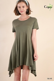 Umgee USA Short Sleeved Dress - Front cropped