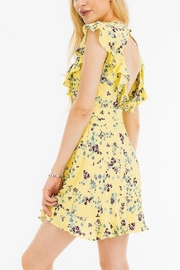 Olivaceous Short Spring Dress - Front full body
